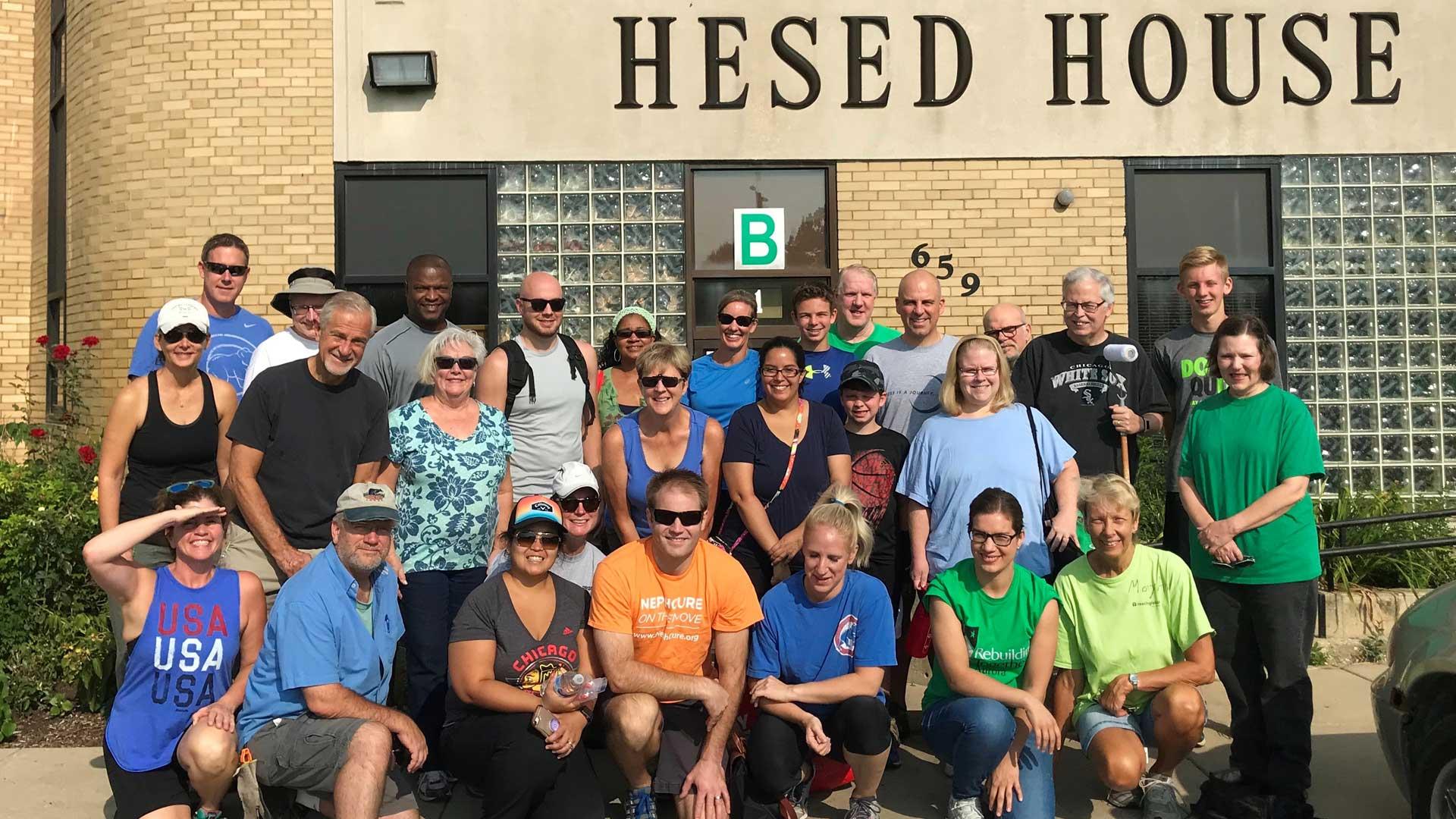 Hesed House Group Photo