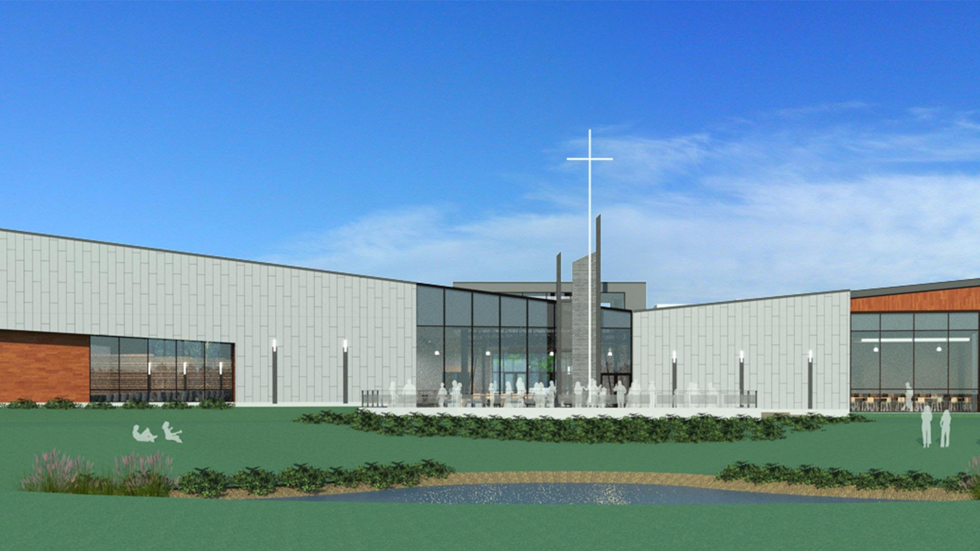 South Naperville Campus Outside View